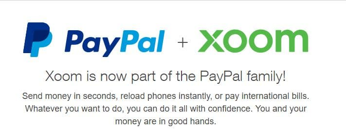 PayPal Xoom Ripple Earthport