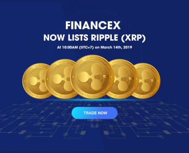 FinanceX lists Ripple (XRP)