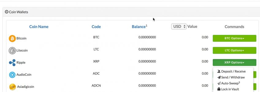 ripple bext xrp wallet coinpayments
