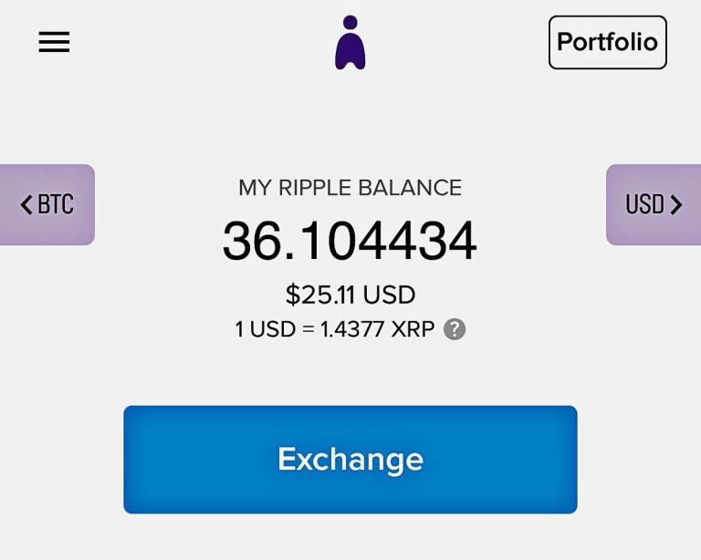 abra balance xrp ripple wallet