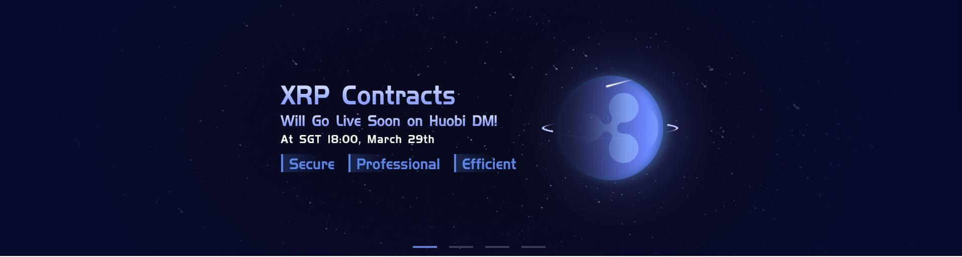 xrp ripple contracts exchange huobi