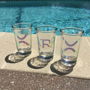 xrp pool shoot glass