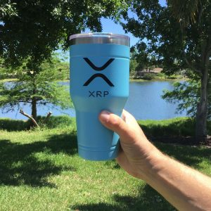 xrp tumblr cup 30oz lid
