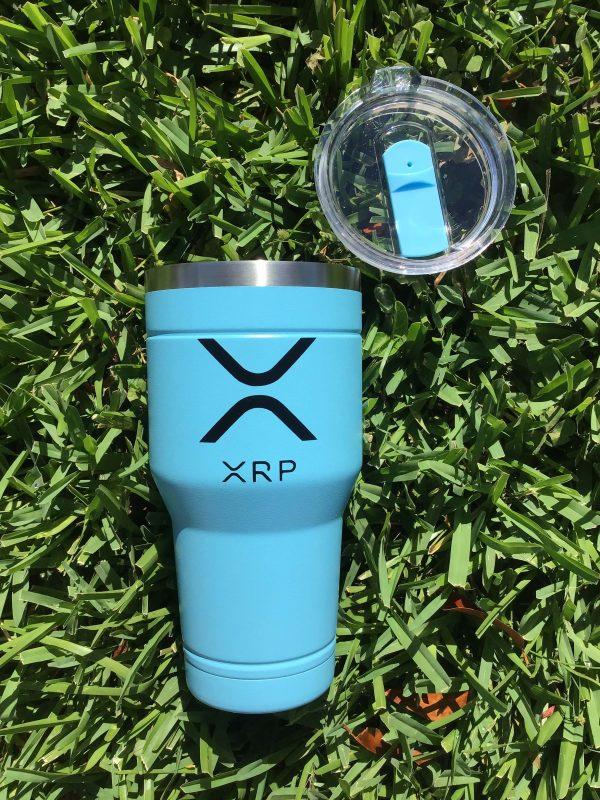 30oz XRP Tumbler RippleNet