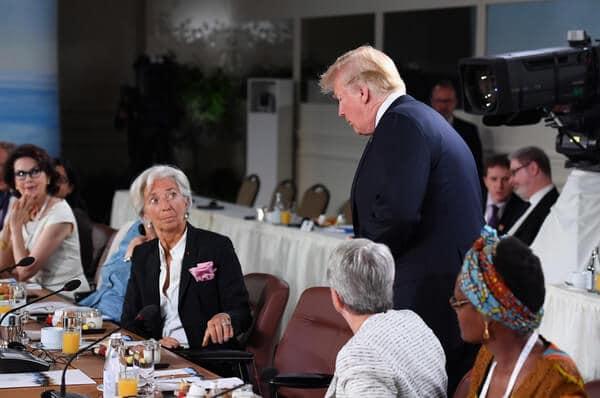 Trumph Lagarde xrp