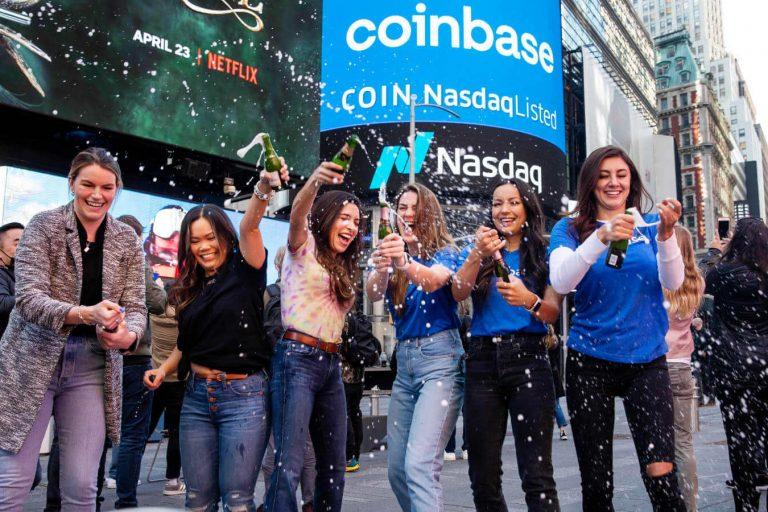 Coinbase Executives Dump Stock Same Day As Wells Notice